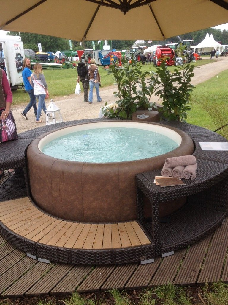 Whirlpool Garten Rattan A Review Of Softub The Hot Tub With A Difference Soft Hot Tub