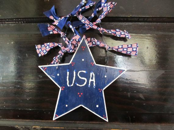 Wood USA Sign by MesheleCrafts on Etsy