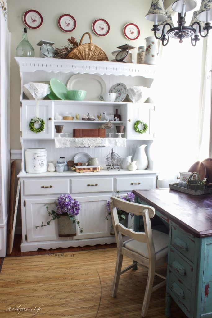 Sprucing up the kitchen with spring decor kitchen decor kitchen desks and kitchens