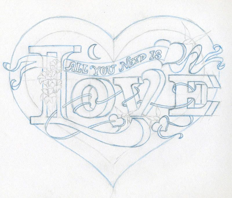 Pin by Dawn Gilliland on Hearts Love drawings, Heart