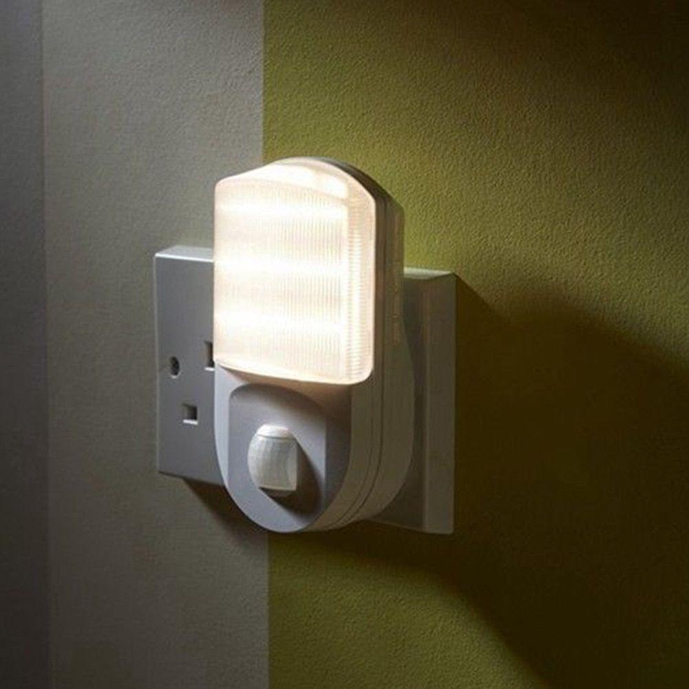 Encontrar Mas Led Luces De La Noche Informacion Acerca De 9 Led Pir Sensor De Movimiento De Luz De La Noche De Casa Pasi Lampara De Pared Luces De La Noche Led