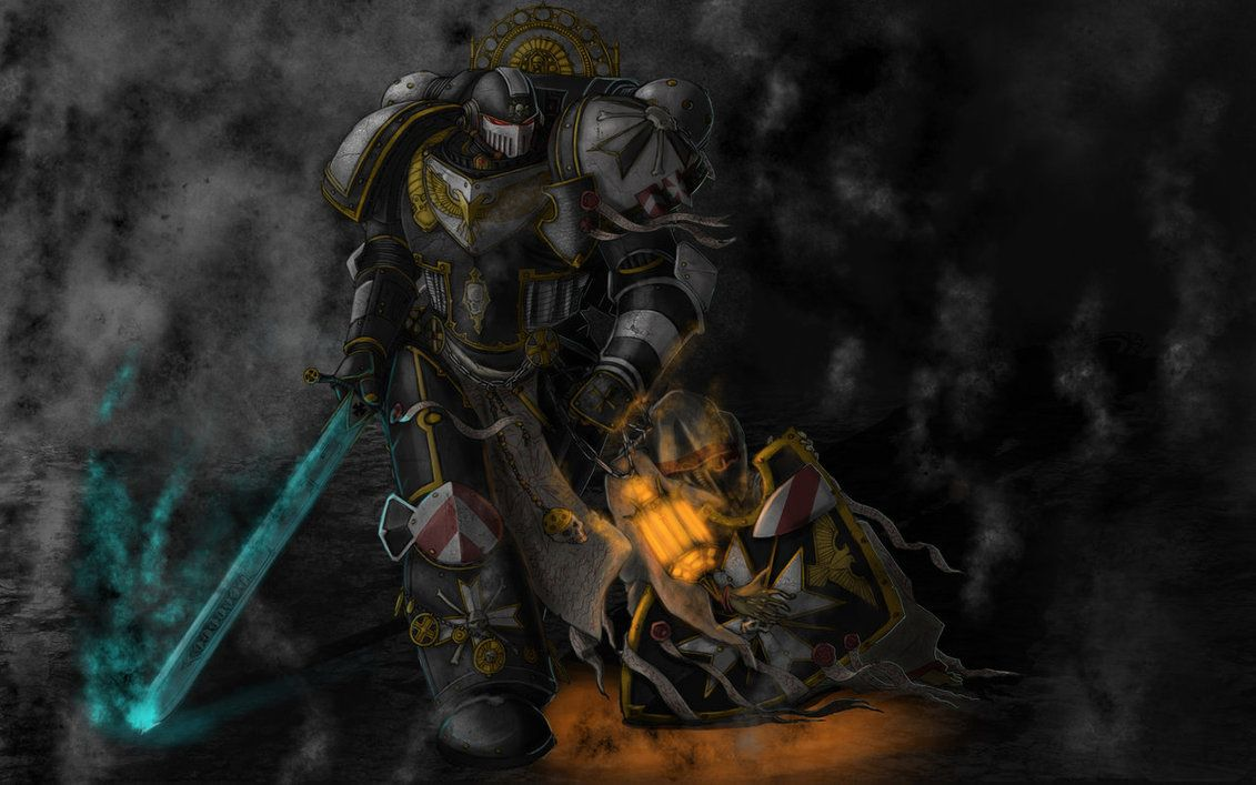 Black Templars Wallpaper Google Search Warhammer Art Templars Black