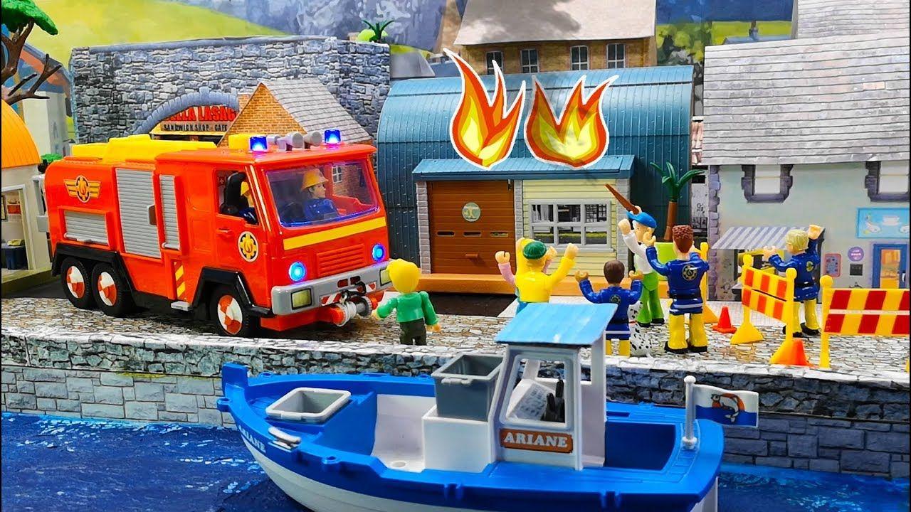 Feuerwehrmann Sam Spielzeug Gefahrliches Feuerwerk Mike S Werkstatt I Feuerwehrmann Sam Kinder Filme Feuerwehrmann