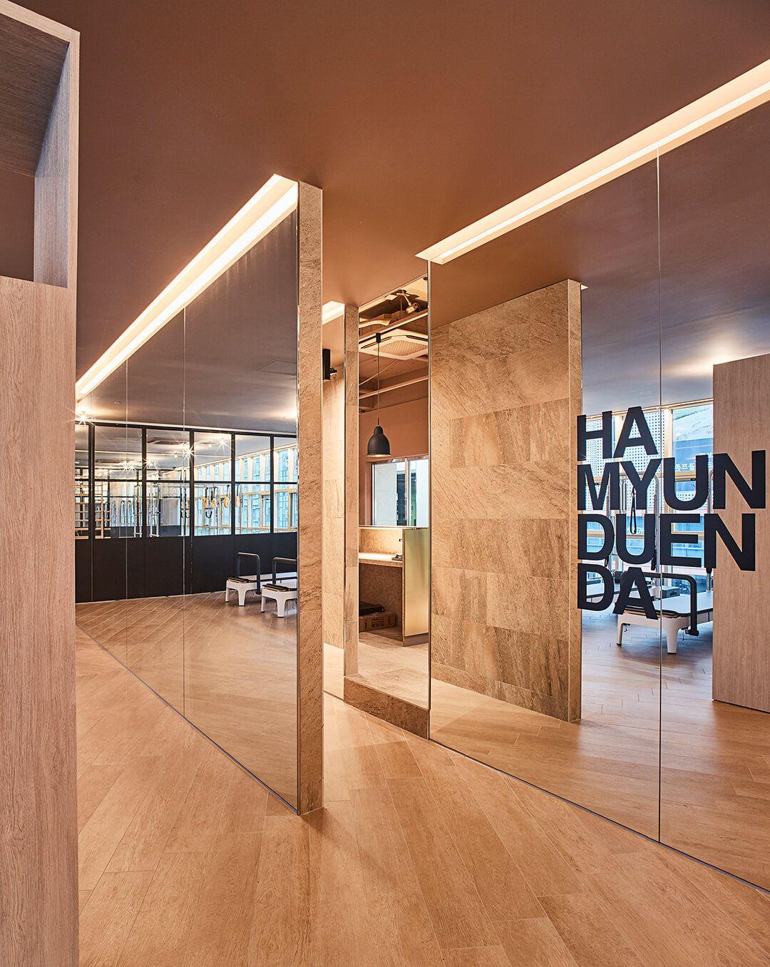 Vonsung designs with balance in a pilates studio | Pilates studio ...