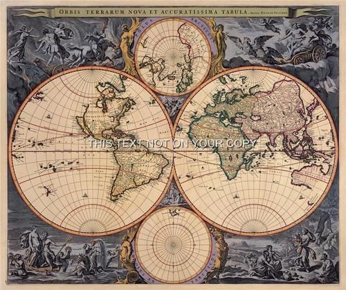 vintage maps Old Compass And Rope On Vintage Map 1746 Stock Photo - copy 3d world map hd wallpaper