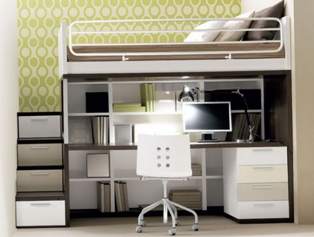 Modern Bed Desk Modern Loft Bed With Dresser Underneath Modern Bunk Beds Bunk Beds With Stairs Bunk Bed With Desk Loft beds with storage and desk
