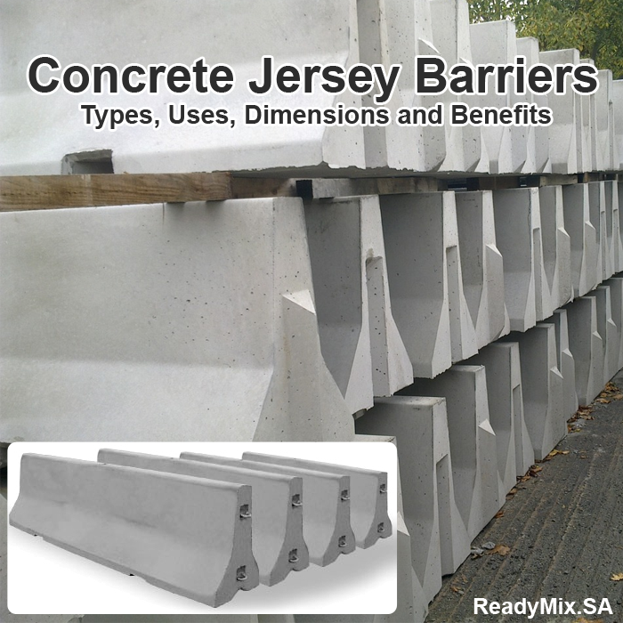 Concrete Jersey Barriers in Saudi Arabia : Types, Uses