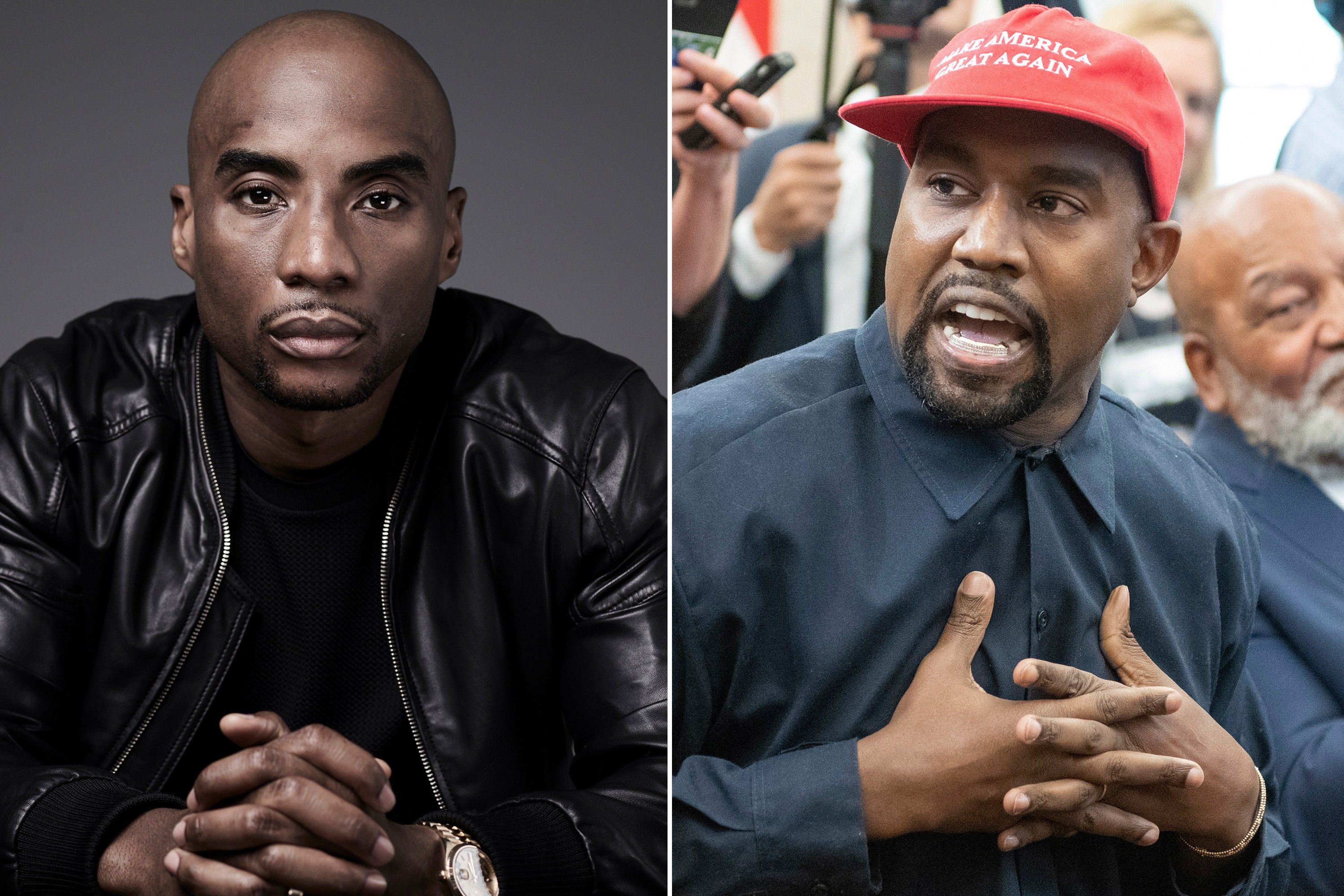 Charlamagne Tha God Leave Kanye West Alone Charlamagne Tha God Kanye West Kanye