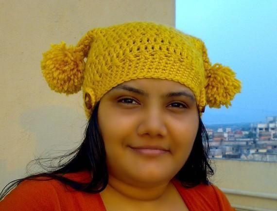 Designer Beanie Easy Crochet Tapering Hat Pattern