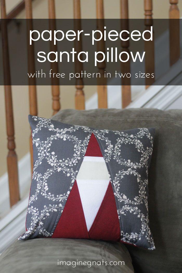 sewing: santa paper piecing pattern | Pinterest | Patchwork, Winter ...