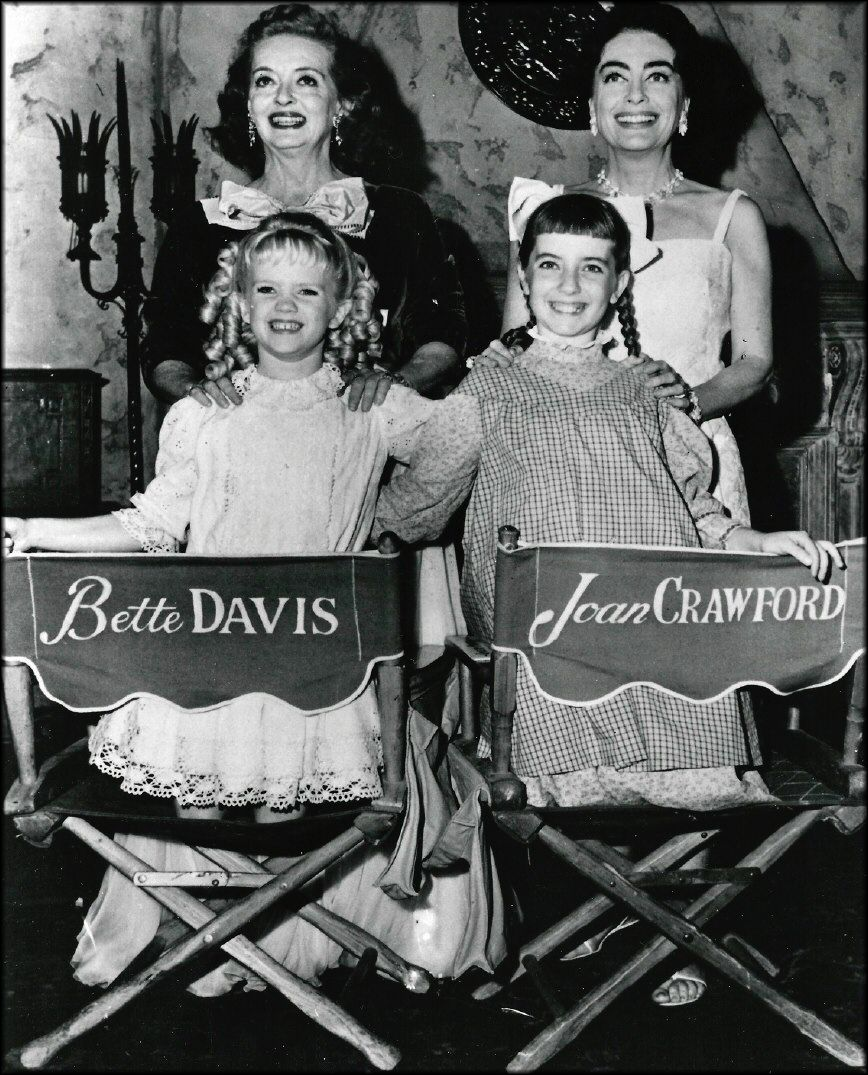 Image result for Bette and Joan on set
