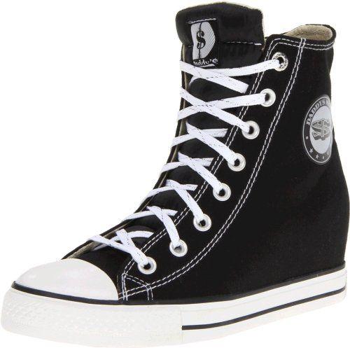 Además Influyente Arancel  Skechers Women's Gimme Sneaker,Black,9.5 M US | Skechers, Zapatillas de lona,  Zapatillas