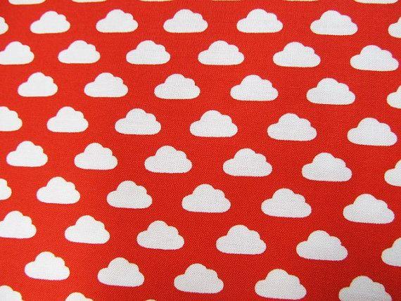 1/2 yard Cloud fabricToy TalesMelanie by SewStitchingHappy on Etsy, $4.90