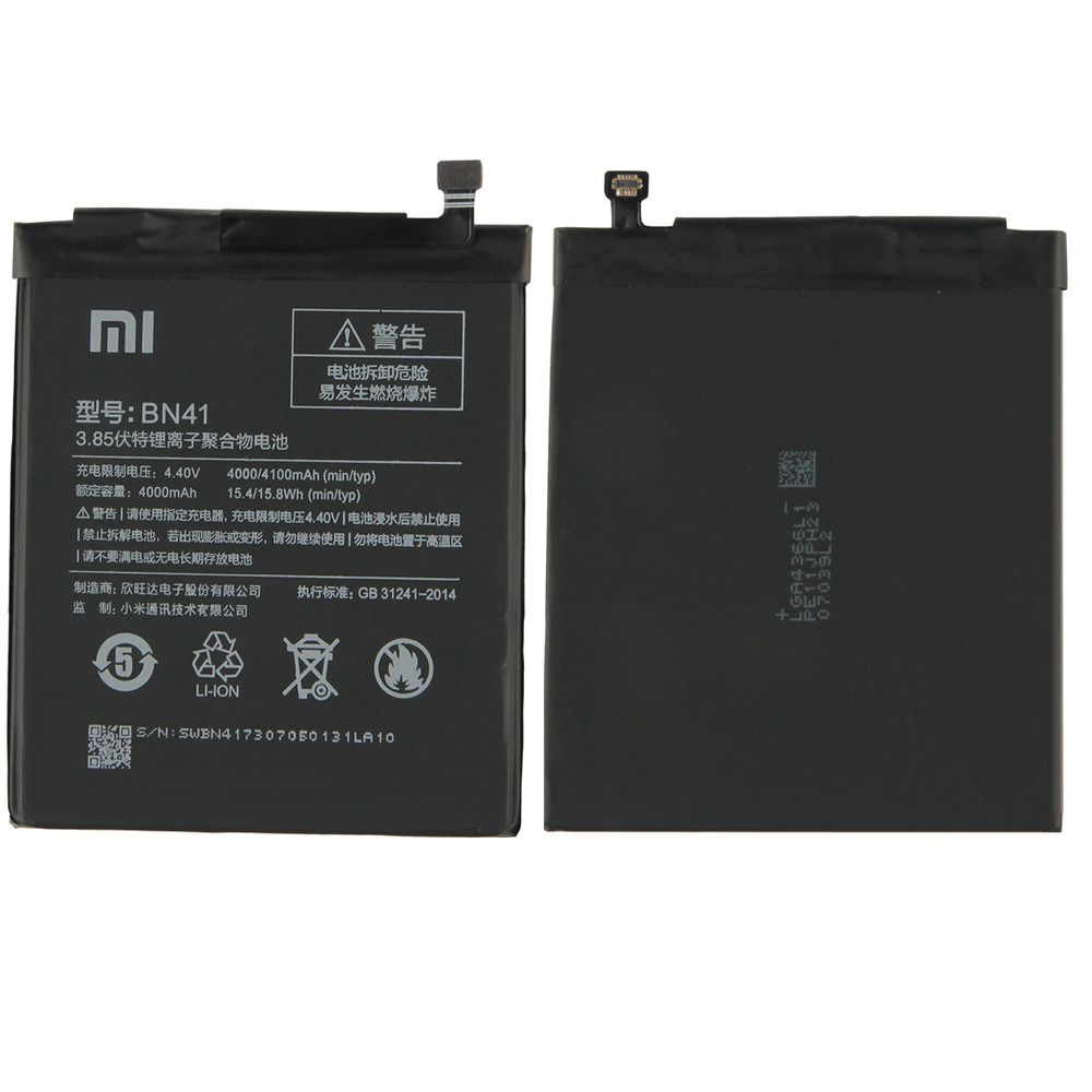 New Original 4100mah Bn41 Battery For Xiaomi Redmi Note 4 Note 4x Pro Accu Unbranded Xiaomi Battery Things To Sell