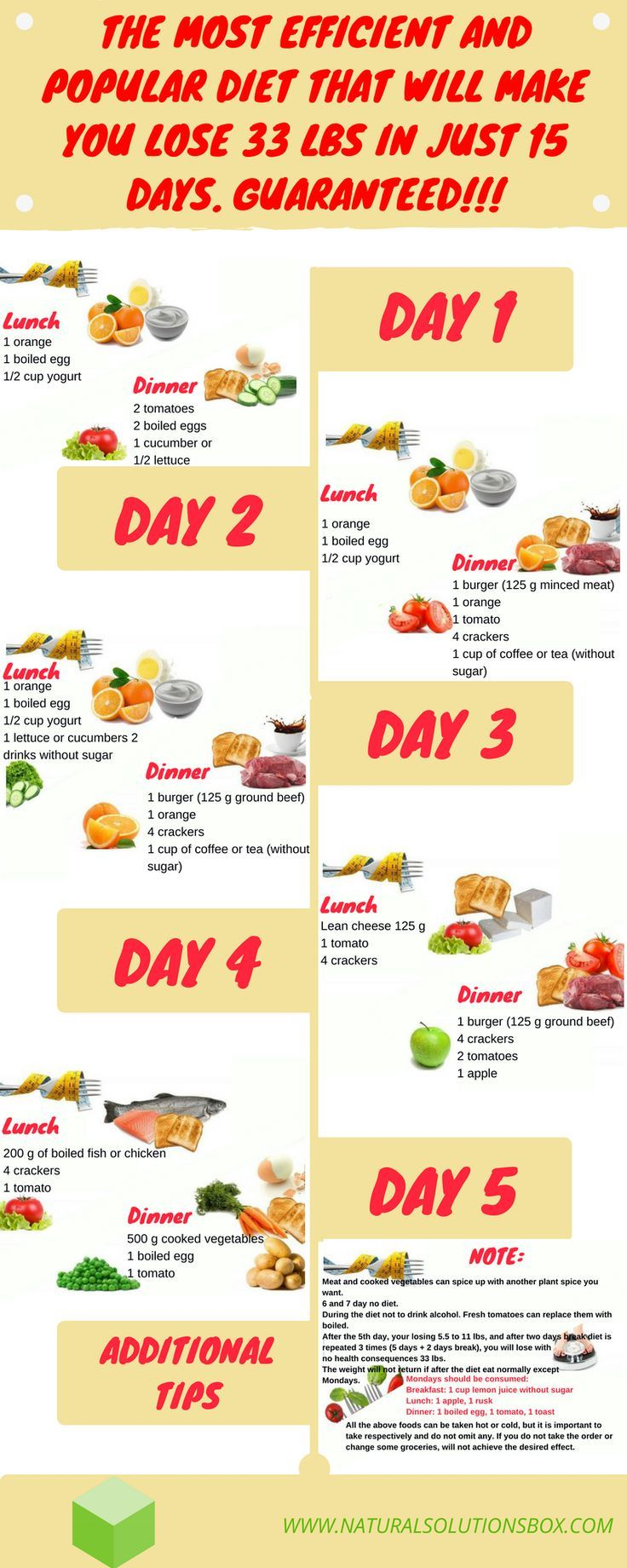 how to lose weight in 4 days yahoo