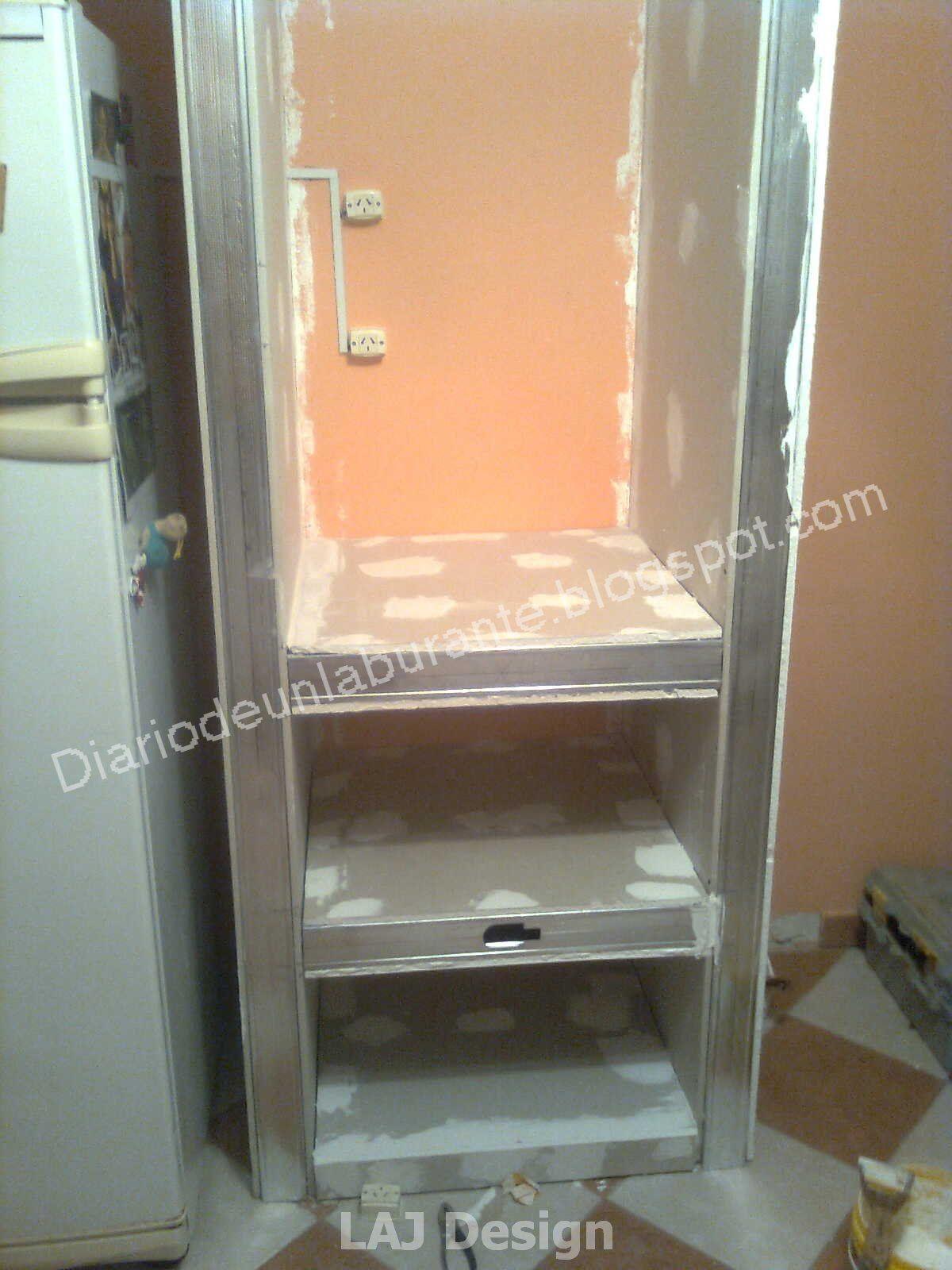 Pin De Leonardo Oro En Construcci N Durlock Pinterest Construcci N # Muebles Durlock Paso A Paso