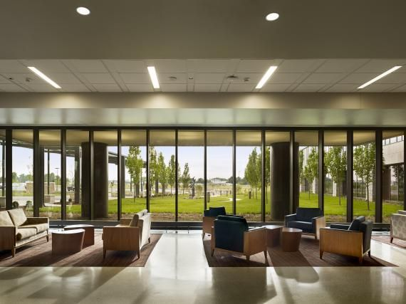 Visitors Get A Glimpse Of The Hospital S Natural