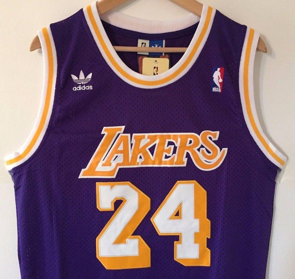 Men 24 Kobe Bryant Jersey Purple Los Angeles Lakers Swingman Jersey ... 658b23758