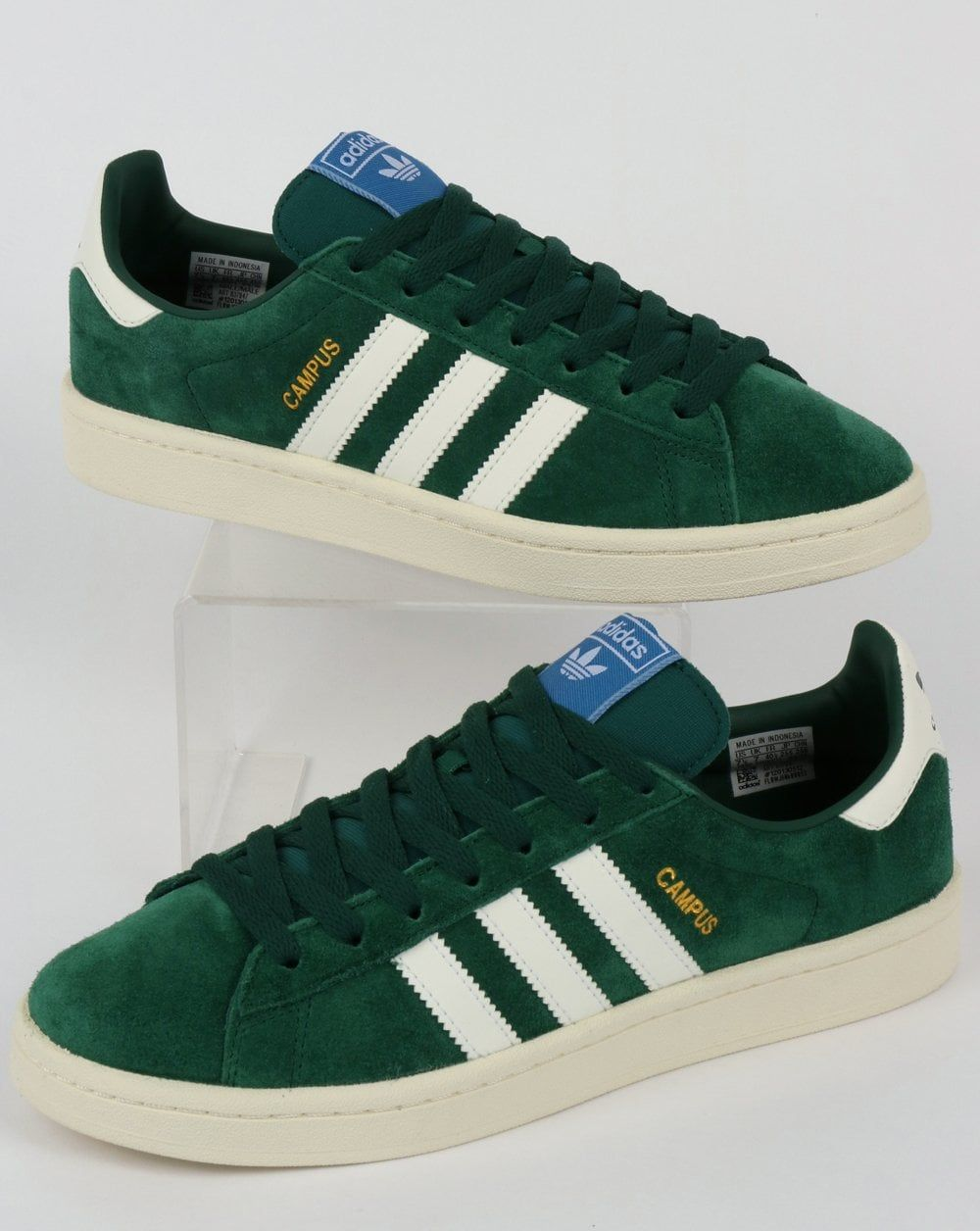 10fe743948c3 Adidas Campus Trainers Green