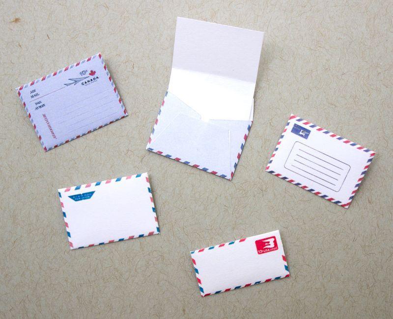 409 best MINIATURE - PRINTABLES MAIL, LABELS, PAPER ETC images on - new letter envelope address format canada
