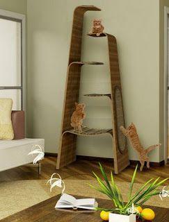 Gatos: A casa dos sonhos ~ Arte De Fazer | Decoração e Artesanato