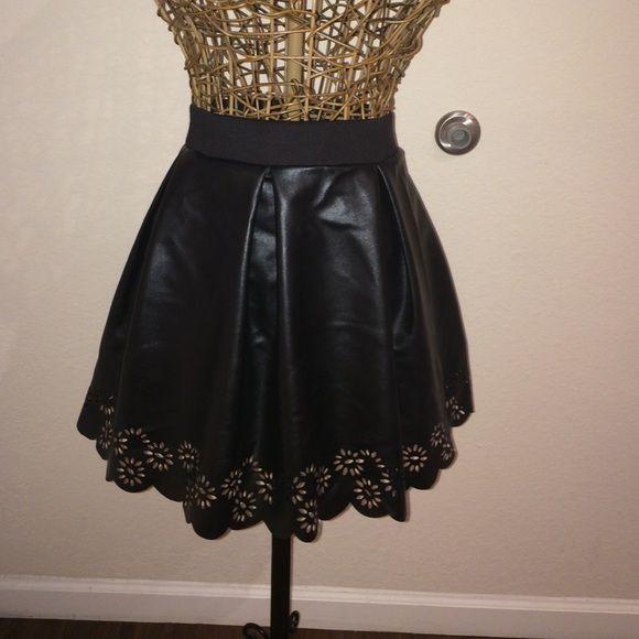 15bc318d0305 Sissy Boy fuax leather high waist skirt Faux leather high waisted skirt.  NWT from South Africa Sissy Boy Skirts A-Line or Full