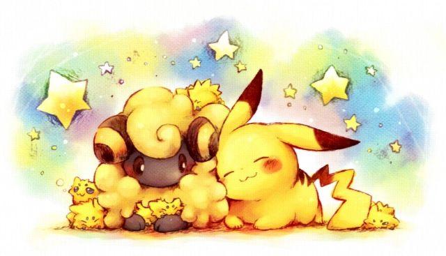 Electric love kawii pokemon pok mon pikachu pika pokemon - Pokemon wattouat ...