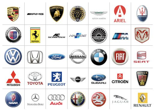 Automobile Logos Autos Coches Emblemas