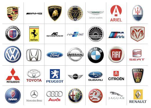 Automobile logos   Design of illustration   Pinterest   Automobile ...