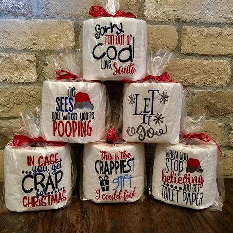 Craft sayings christmas gag gift ideas
