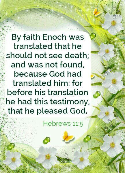 Image result for Hebrews 11:5 kjv
