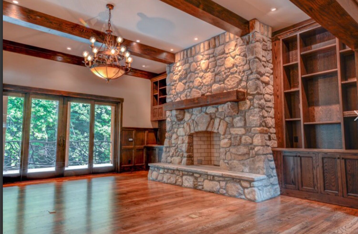 Built ins paneling ceiling treatment for the home pinterest