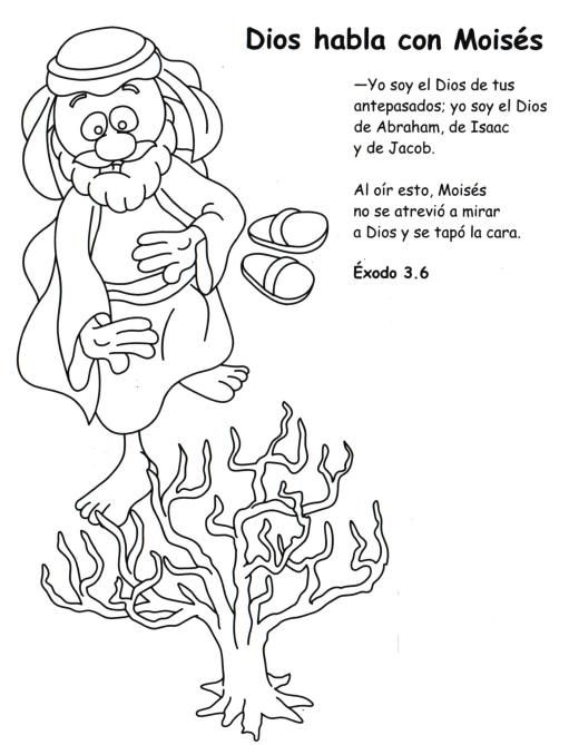 EGIPTO y la BIBLIA | religion | Pinterest | Zarza, Moises y Escuela