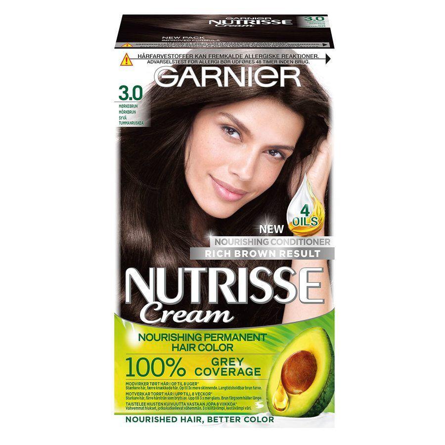 garnier hårfärg brun