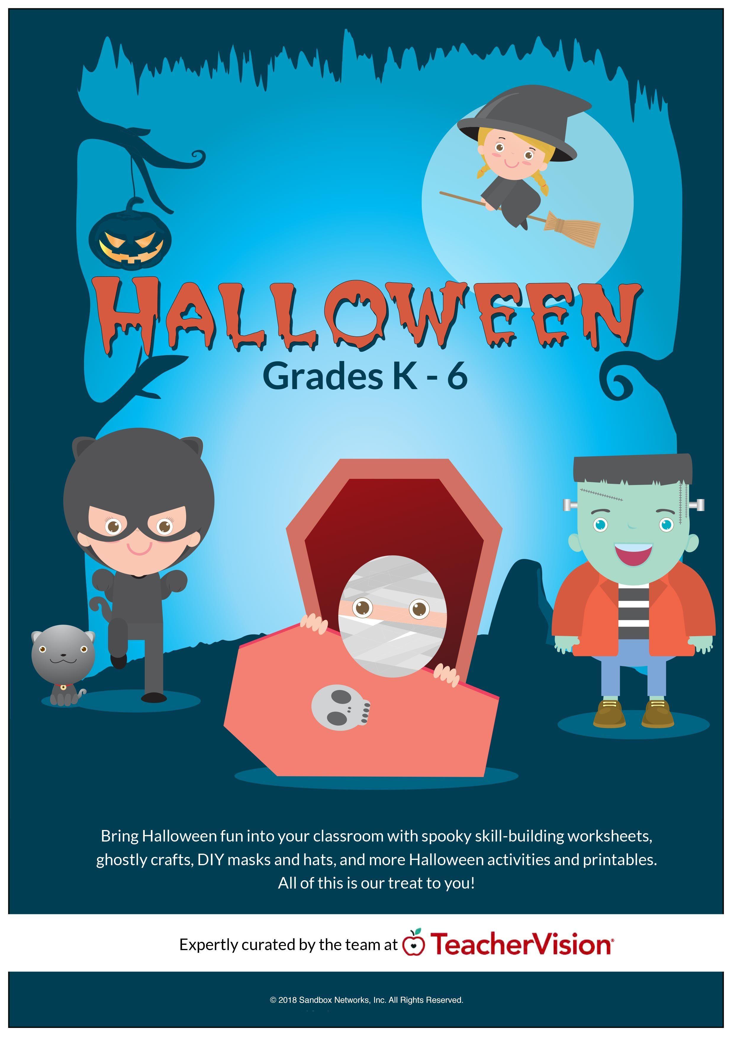 Pin On Halloween Teaching Ideas