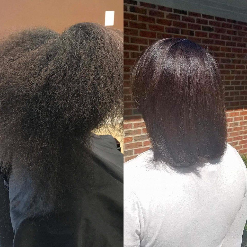 Monat Before and After naturalthinninghairsolutions