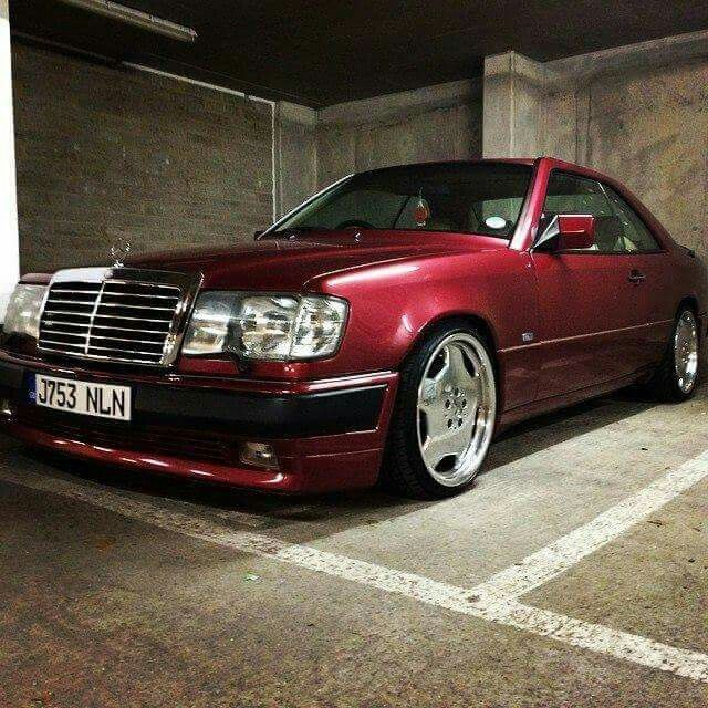 W124 Coupe With Images Mercedes Benz Amg Mercedes W124