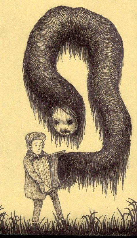 John Kenn Sticky Note Monsters Drawings In 2019