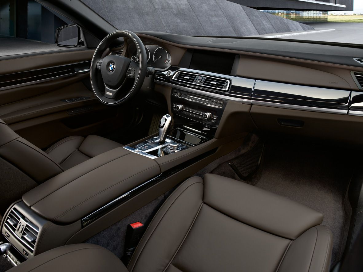 Brown Leather Interior Of The Bmw 5 Series With Images Bmw New