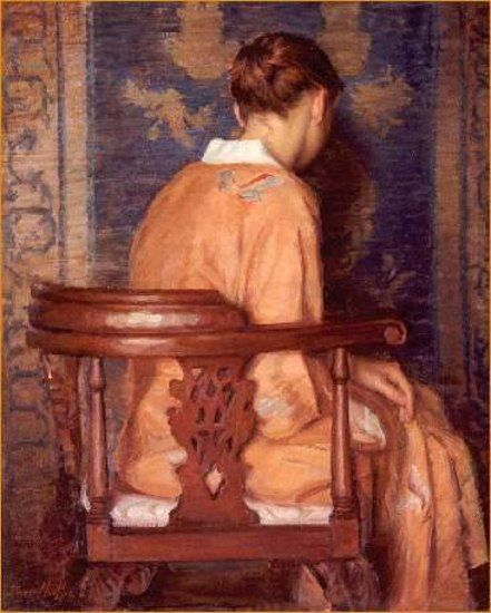 Woman in Kimono by David Mueller.