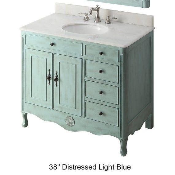38 Rustic Distressed Bathroom Vanity In 2020 Distressed Bathroom Vanity Single Bathroom Vanity Bathroom Sink Vanity