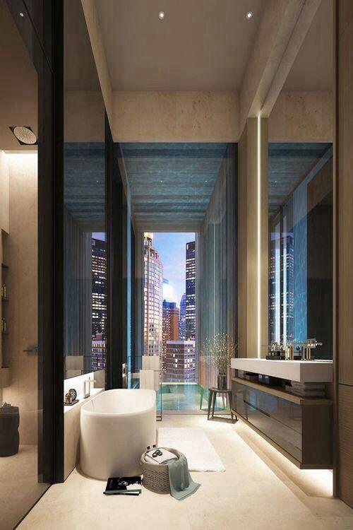 Master Bath Towel Recess At Vanity Design Bathrooms