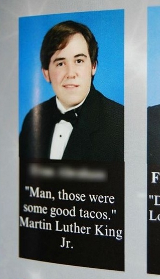 The 100 Funniest Yearbook Quotes Ever Funny Yearbook Funny Yearbook Quotes Yearbook Quotes