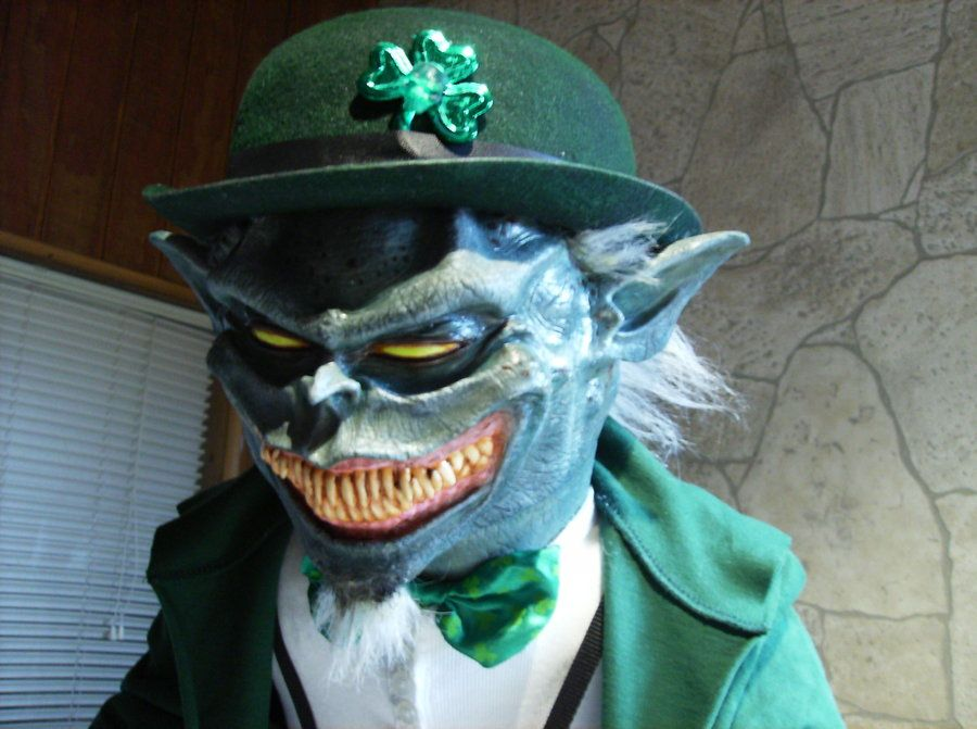 Evil leprechaun close up by ~DarkAsylumxxx on deviantART | Monsters ...