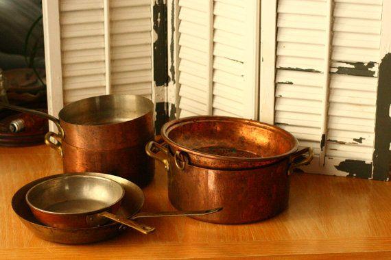 Tournus Copper Pots And Pans Kitchen High End By