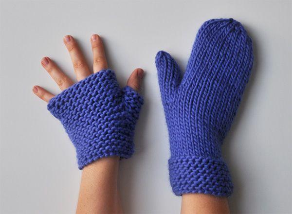 Moufles Ou Mitaines Les Tutos Tricot Et Crochet