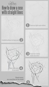 How to draw flowers and turn these drawings into really cool wall art