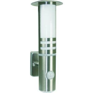 ELRO Outdoor Wall Lights Up Down Light with or without PIR IP44 Stainless Steel