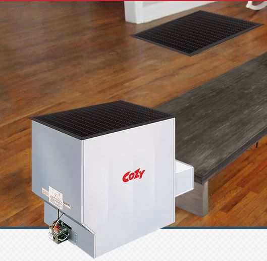 The Cozy Challenger Floor Furnace Provides Warm, Even Heat Through The  Natural Convection Of Circulating