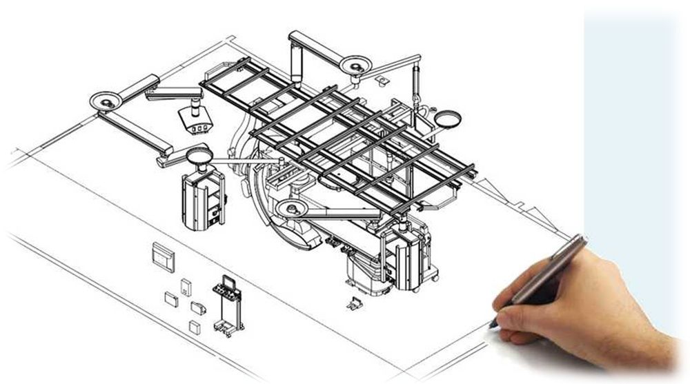 Hybrid OR Operating Room Drawing Design Layout Planning Consultants